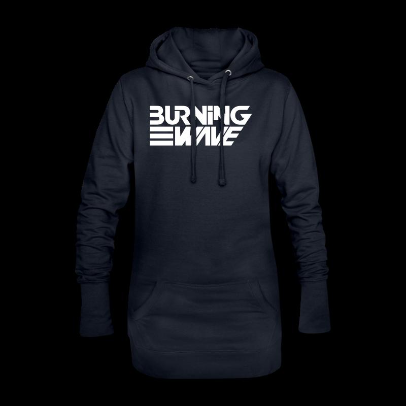 Burning Wave Block - Sweat-shirt à capuche long Femme