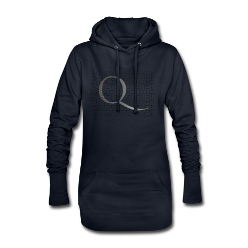 Q and Qanon - Hoodie Dress