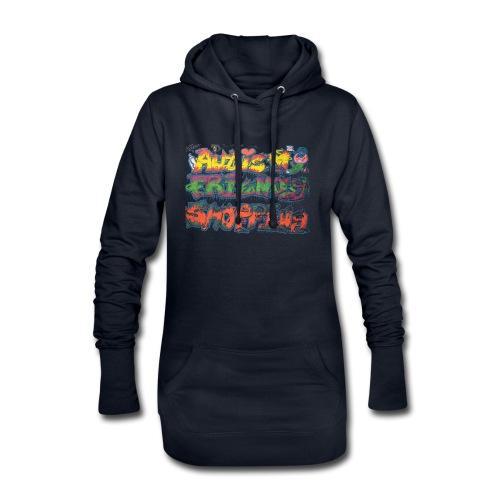 Autism Friendly Shopping Graffiti Style - Hoodie Dress