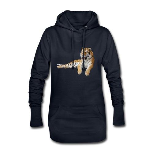 078 - Sudadera vestido con capucha