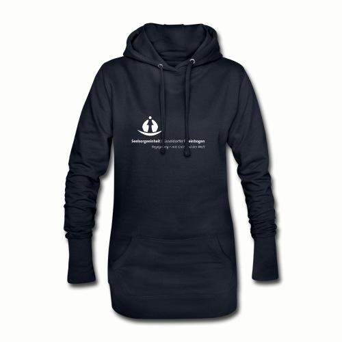SDR LogoClaim l 1c weiss - Hoodie-Kleid