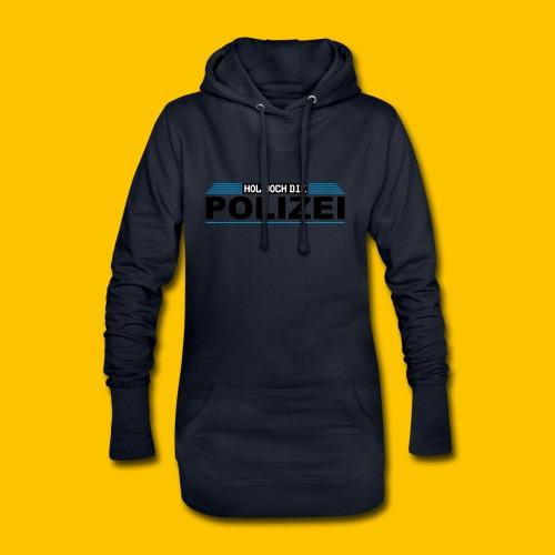 Hol doch die Polizei - Hoodie-Kleid