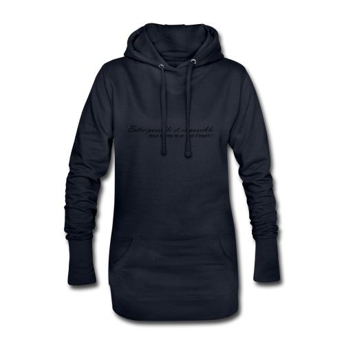 Possible et impossible - Sweat-shirt à capuche long Femme
