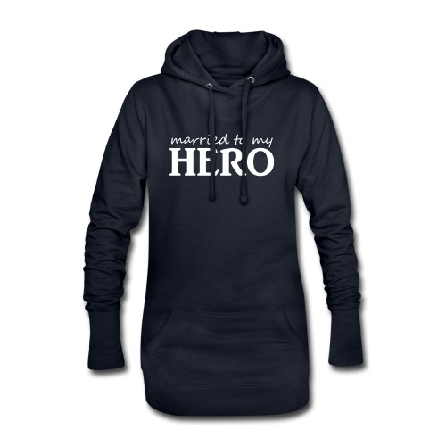 Married to my hero - Hoodie-Kleid