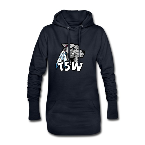 T5Wolves - Hoodie Dress