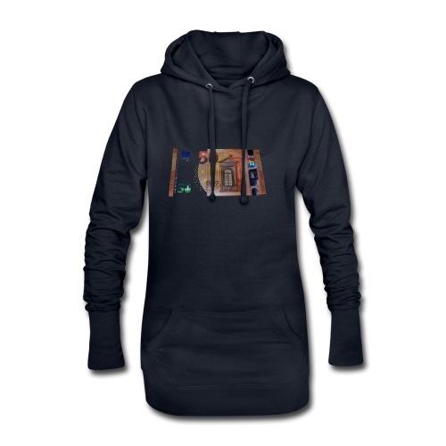 50 Euro bei Nacht - Hoodie-Kleid