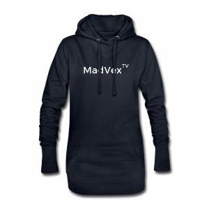 MadVexTV Schriftzug - Hoodie-Kleid