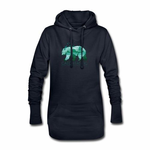 Bär Natur - Hoodie-Kleid