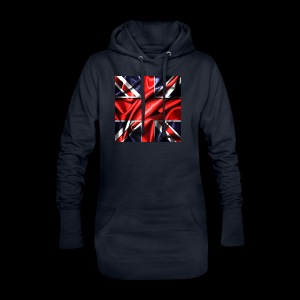 Union Jack design - Hoodie Dress