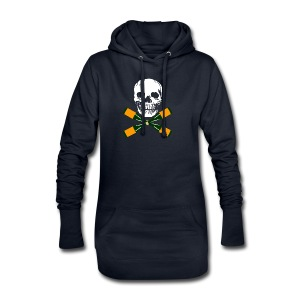 Skull and Bucky Bottles 2 - Hoodie Dress