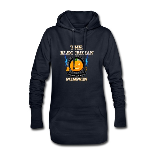 The Electrican lightning the Pumpkin - Hoodie-Kleid