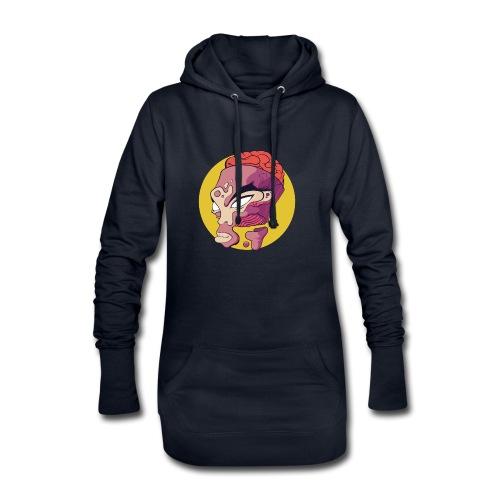 Open minded - Sweat-shirt à capuche long Femme