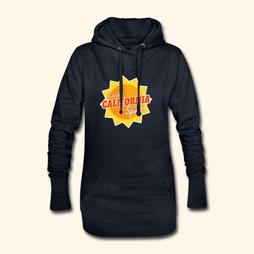 California Spirit Radioshow - Sweat-shirt à capuche long Femme