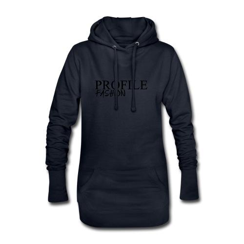 profile fashion - Sweat-shirt à capuche long Femme