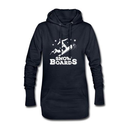 Snowboards2 - Hoodie-Kleid