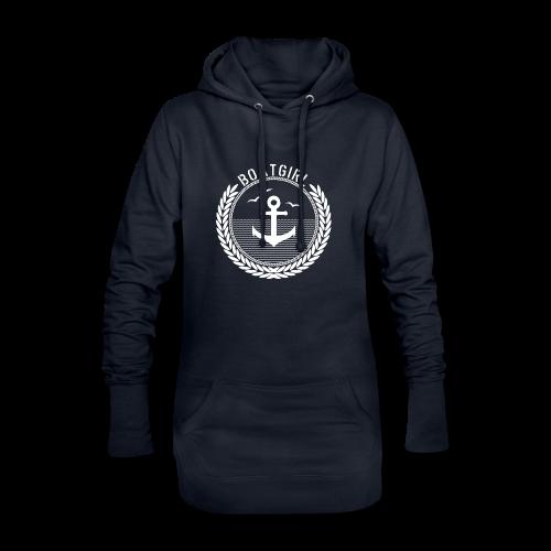BoatGirl - Anchor - Hoodie-Kleid