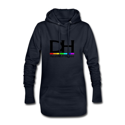 DH Health&Fitness Large logo - Hoodie Dress