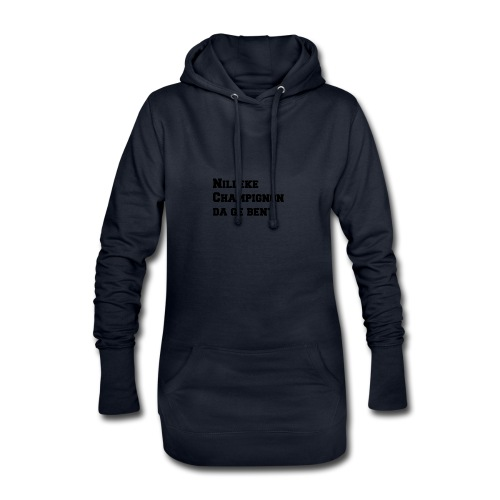 Nilleke Streetwear - Hoodiejurk
