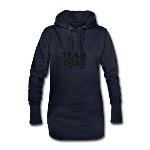 T3am GEAR style - Sweat-shirt à capuche long Femme