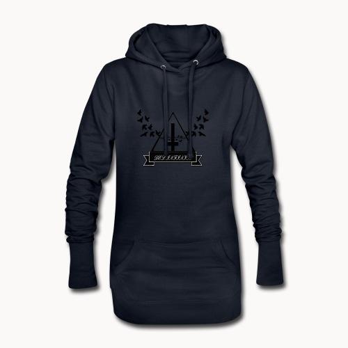 Del Infinito - Sudadera vestido con capucha