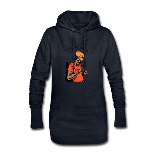 Les Gars Lisez !!! - Sweat-shirt à capuche long Femme