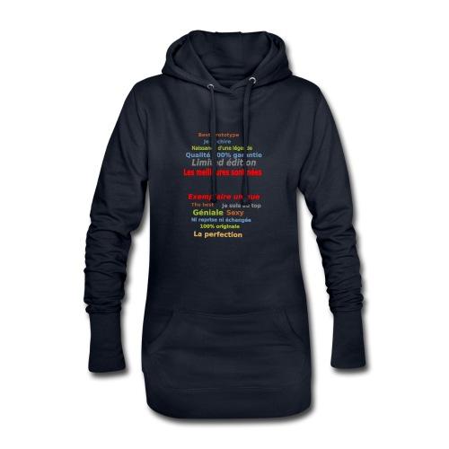 t shirt les meilleures sont nées sweat shirt mugs - Sweat-shirt à capuche long Femme