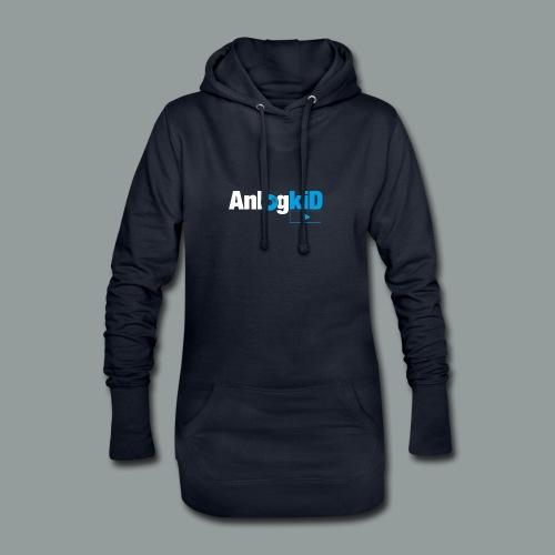Anlogkid_Logo_Blau - Hoodie-Kleid