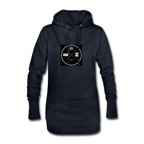 W8Booking Logo - Hoodie-Kleid