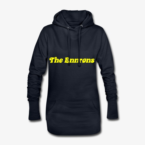 TheEnnrons yellow text - Hoodiejurk
