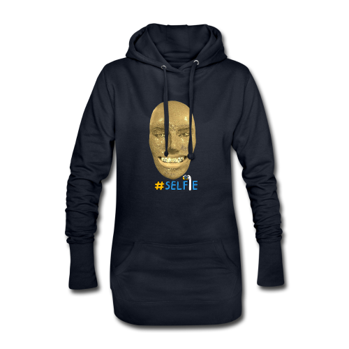 Gold Gesicht mit Zahndiamant - Hoodie-Kleid