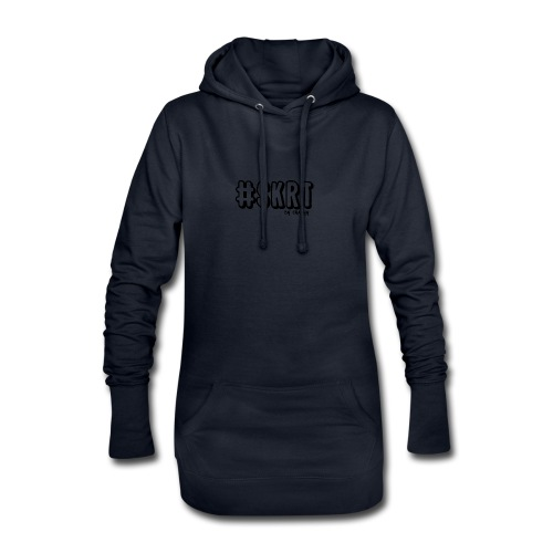 CRAZYY SKRT LOGO - Hoodie Dress