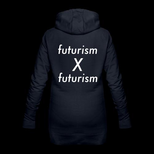 futurism x futurism - Hoodie-Kleid