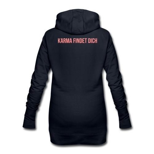 Karma Findet Dich - Hoodie-Kleid