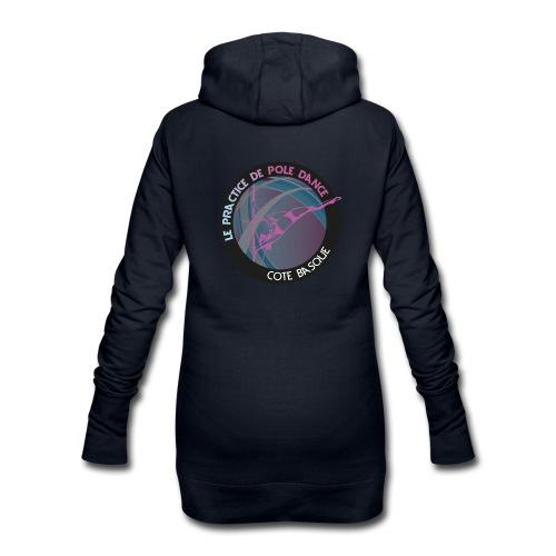 Collection logo - Sweat-shirt à capuche long Femme