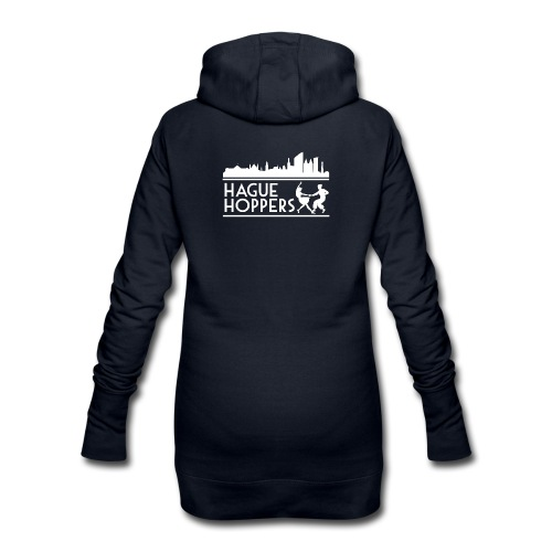 HH white logo back - Hoodiejurk