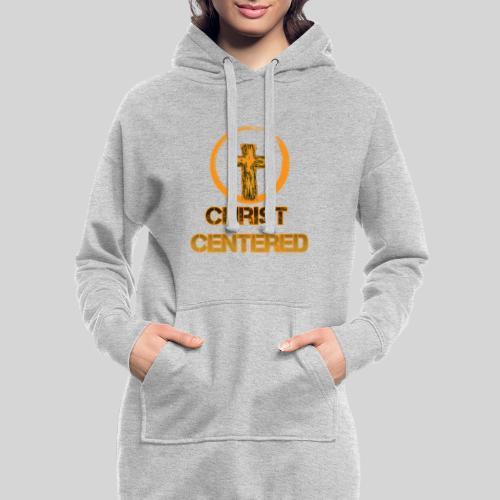 Christ Centered Focus on Jesus - Hoodie-Kleid