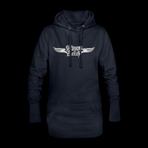 Wings of Decay Shop - Sweat-shirt à capuche long Femme