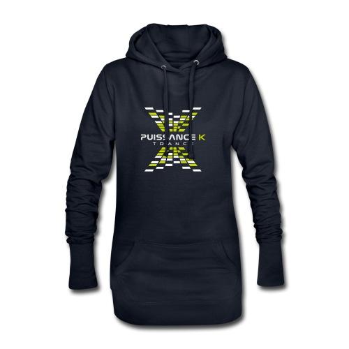 Puissance K - Sweat-shirt à capuche long Femme