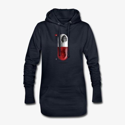 capsula - Sudadera vestido con capucha