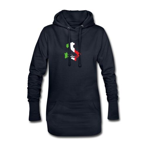 Tedeschi italie - Sweat-shirt à capuche long Femme