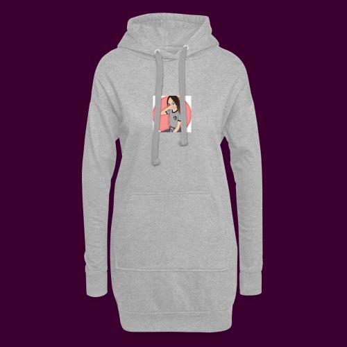 IMG_4082 - Sweat-shirt à capuche long Femme