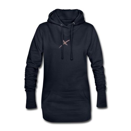 X-Clothing v0.1 - Sudadera vestido con capucha