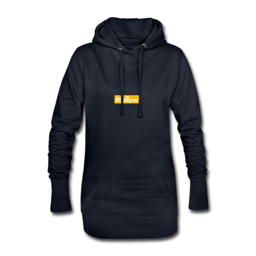 Mellow Orange - Hoodie Dress