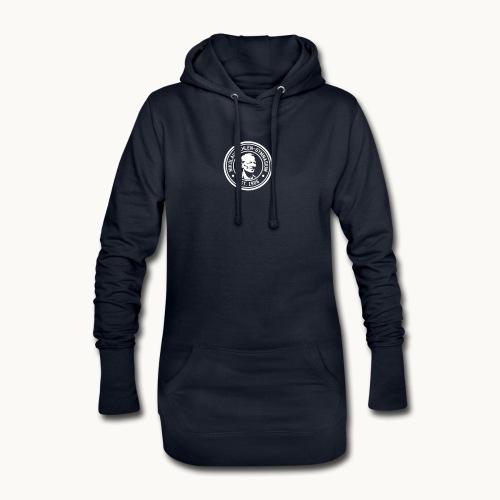 Ehlen College weiß dezent - Hoodie-Kleid