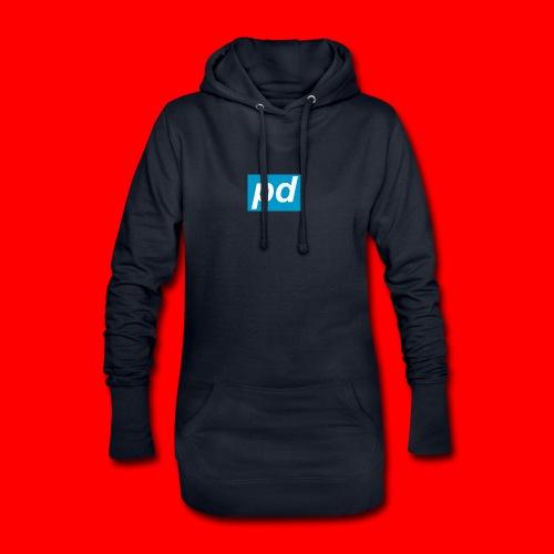 pd Blue - Hoodie-kjole