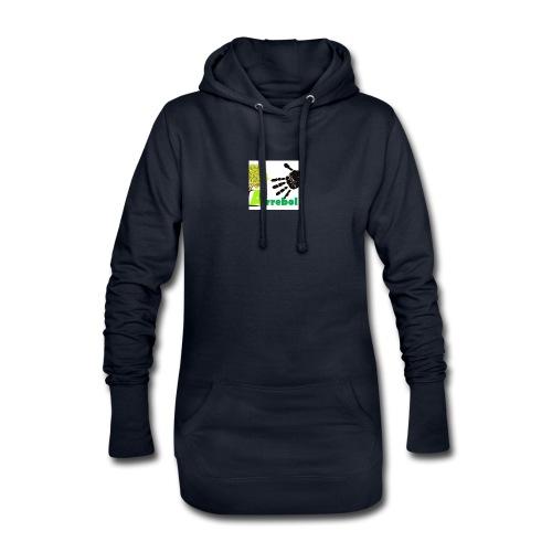 logo_arrebol_bueno - Sudadera vestido con capucha