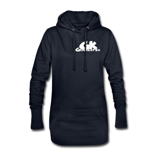 GK Schriftzug - Hoodie-Kleid