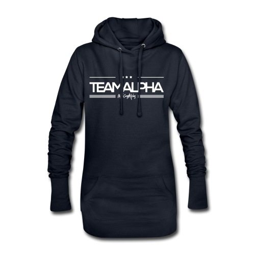 Team Alpha Alphatier Geschenk für Alphas - Hoodie-Kleid