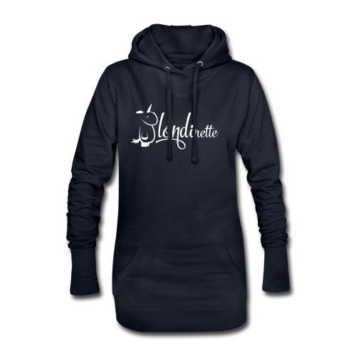 Blondinette - Sweat-shirt à capuche long Femme