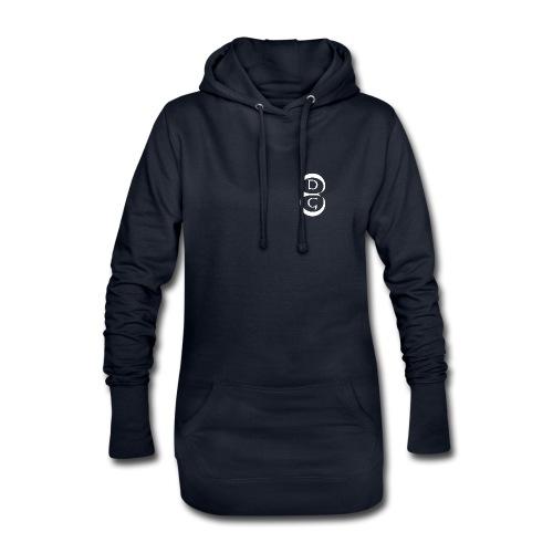 EDG-Logo 1000x1000 weiß n - Hoodie-Kleid
